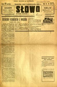 Słowo, 1930. R. 9, nr 227