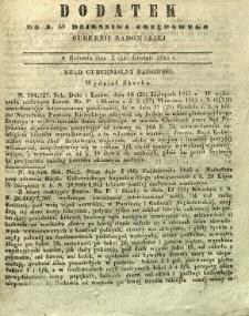 Dziennik Urzędowy Gubernii Radomskiej, 1845, nr 50, dod.