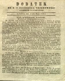 Dziennik Urzędowy Gubernii Radomskiej, 1846, nr 11, dod.