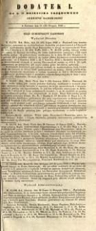 Dziennik Urzędowy Gubernii Radomskiej, 1846, nr 34, dod. I