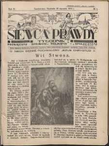Siewca Prawdy, 1934, R. 4, nr 5