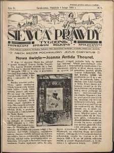 Siewca Prawdy, 1934, R.4, nr 6