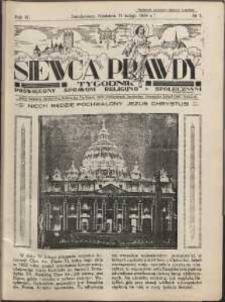 Siewca Prawdy, 1934, R. 4, nr 7