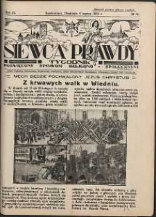 Siewca Prawdy, 1934, R.4, nr 10