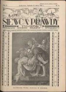Siewca Prawdy, 1934, R. 4, nr 13
