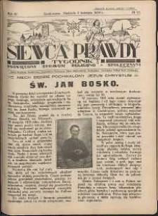 Siewca Prawdy, 1934, R. 4, nr 15