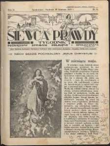 Siewca Prawdy, 1934, R.4, nr 18
