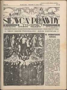 Siewca Prawdy, 1934, R. 4, nr 19