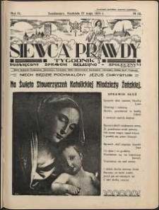 Siewca Prawdy, 1934, R.4, nr 22