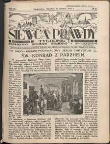 Siewca Prawdy, 1934, R. 4, nr 25