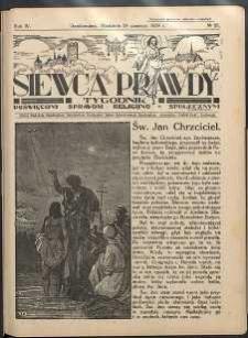 Siewca Prawdy, 1934, R.4, nr 26