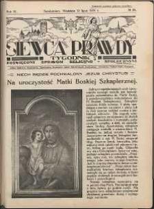 Siewca Prawdy, 1934, R. 4, nr 29