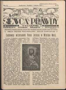 Siewca Prawdy, 1934, R.4, nr 32
