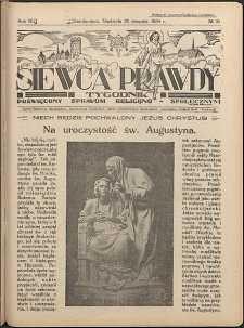 Siewca Prawdy, 1934, R. 4, nr 35