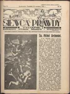 Siewca Prawdy, 1934, R. 4, nr 39