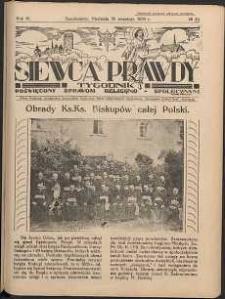 Siewca Prawdy, 1934, R.4, nr 40