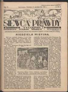 Siewca Prawdy, 1934, R. 4, nr 43