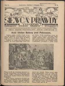 Siewca Prawdy, 1934, R.4, nr 46