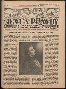 Siewca Prawdy, 1934, R. 4, nr 47