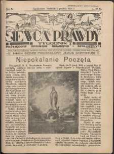 Siewca Prawdy, 1934, R. 4, nr 49