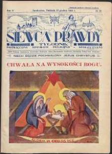 Siewca Prawdy, 1934, R.4, nr 52
