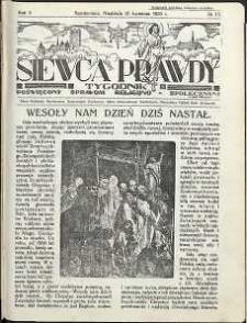 Siewca Prawdy, 1935, R. 5, nr 17