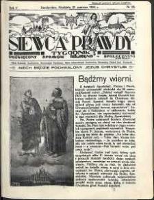 Siewca Prawdy, 1935, R. 5, nr 26