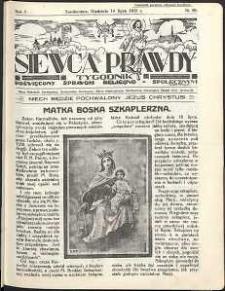 Siewca Prawdy, 1934, R.4, nr 29
