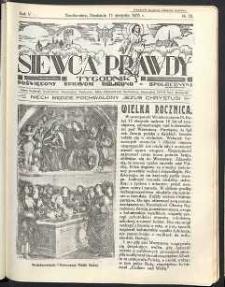 Siewca Prawdy, 1935, R.5, nr 33