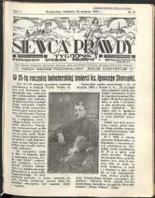 Siewca Prawdy, 1935, R.5, nr 35