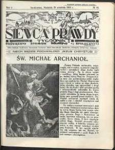 Siewca Prawdy, 1935, R. 5, nr 40