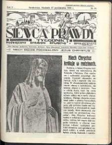 Siewca Prawdy, 1935, R.5, nr 44
