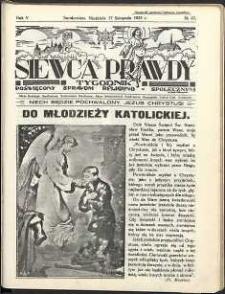 Siewca Prawdy, 1935, R.5, nr 47