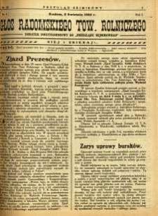 Przegląd Sejmikowy : Urzędowy Organ Sejmiku Radomskiego, 1925, R. 4, nr 13, dod.
