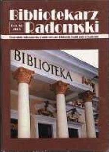 Bibliotekarz Radomski, 2003, R. 11, nr 2