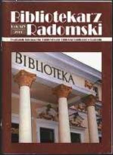 Bibliotekarz Radomski, 2006, R. 14, nr 1