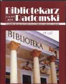 Bibliotekarz Radomski, 2008, R. 16, nr 2