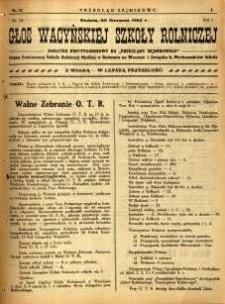 Przegląd Sejmikowy : Urzędowy Organ Sejmiku Radomskiego, 1925, R. 4, nr 32, dod.