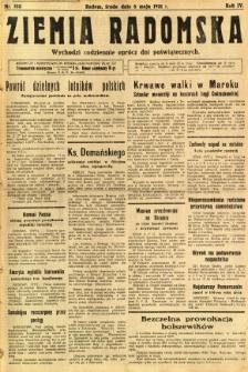 Ziemia Radomska, 1931, R. 4, nr 103