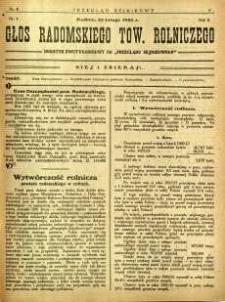 Przegląd Sejmikowy : Urzędowy Organ Sejmiku Radomskiego, 1926, R. 5, nr 8, dod.