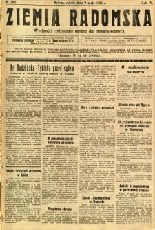 Ziemia Radomska, 1931, R. 4, nr 106