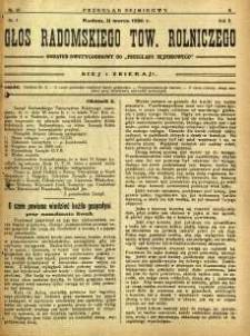 Przegląd Sejmikowy : Urzędowy Organ Sejmiku Radomskiego, 1926, R. 5, nr 10, dod.