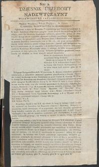 Dziennik Urzędowy Województwa Sandomierskiego, 1834, nr 2