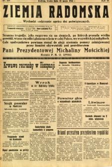 Ziemia Radomska, 1931, R. 4, nr 109