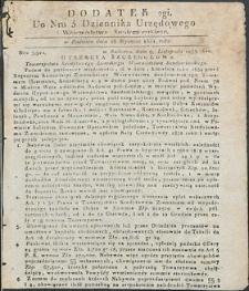 Dziennik Urzędowy Województwa Sandomierskiego, 1834, nr 5, dod. II