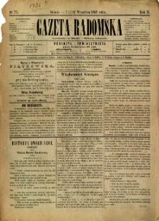 Gazeta Radomska, 1885, R. 2, nr 75