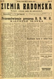Ziemia Radomska, 1931, R. 4, nr 125