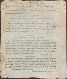 Dziennik Urzędowy Województwa Sandomierskiego, 1834, nr 35, dod. II