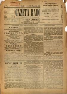 Gazeta Radomska, 1885, R. 2, nr 76