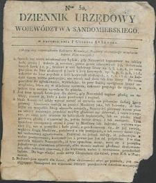 Dziennik Urzędowy Województwa Sandomierskiego, 1834, nr 50
